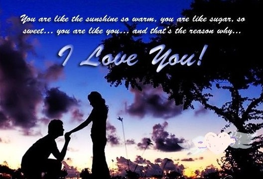 I Love You Sweetheart Happy Propose Day Image