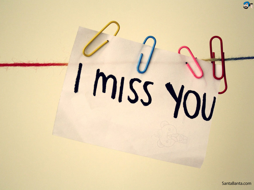 I Miss You Greeting Wishes For Boyfriend