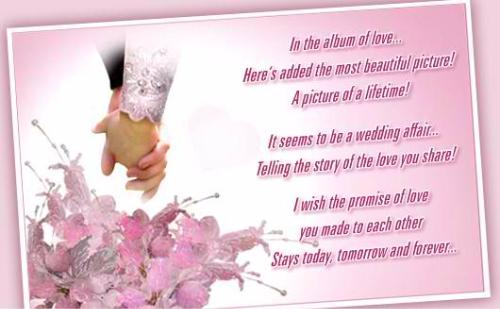 I Wish The Promise Of Love Happy Wedding Life