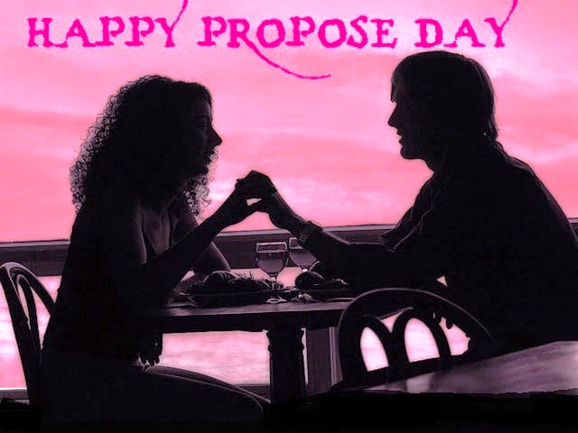 If I Reached For Your Hand, Will U Hold It Happy Propose Day Greeting Image