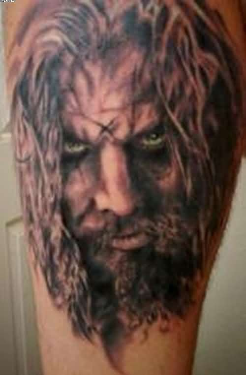 Incredible Rob Zombie Tattoo For Man