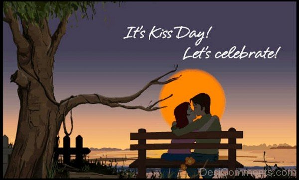 It's Kiss Day Let's Celebrate