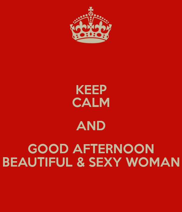 Keep Calm Good Afternoon Wishes Image