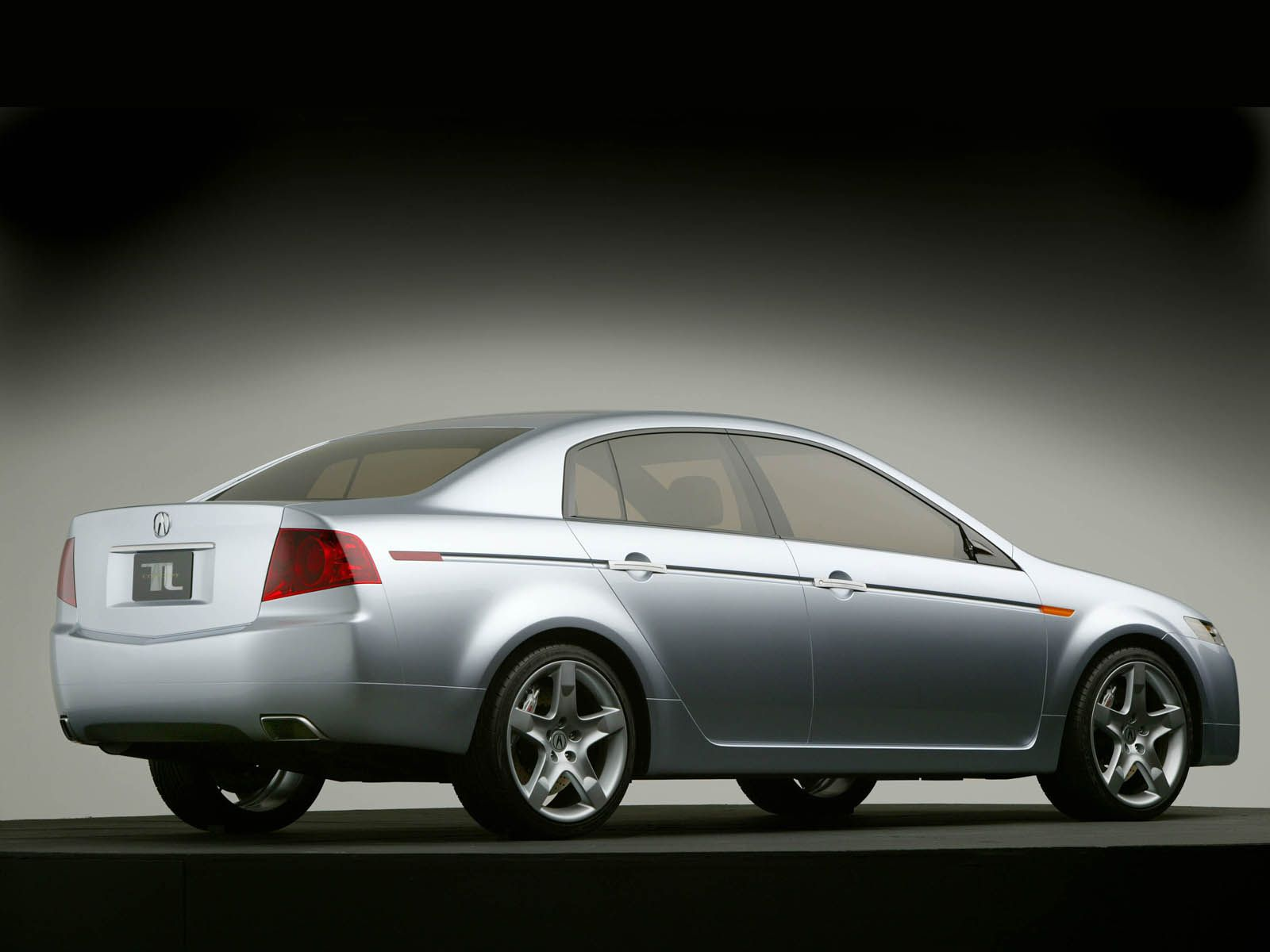 Left side of silver Acura TL Concept Car Acura Tl & RDX Car Pictures