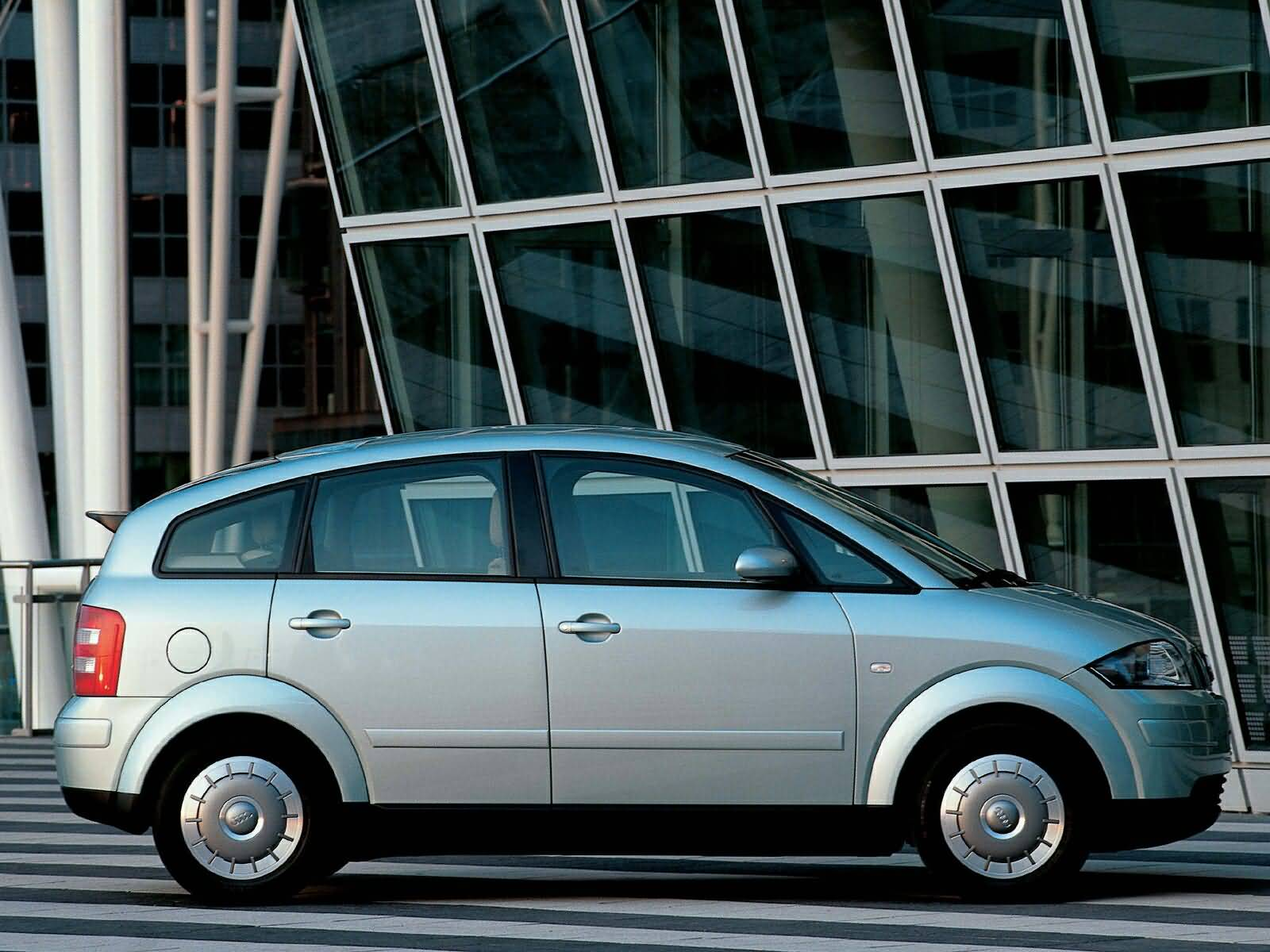 Left side view of lovely Audi A2 Car