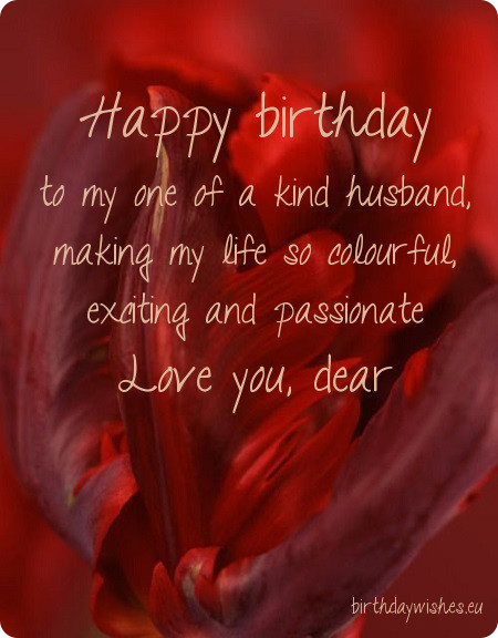 Love You Dear Happy Birthday Wishes For Hubby Image