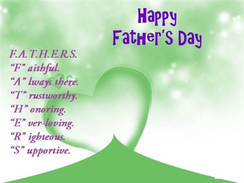 Lovely Father Day Quotes Greetings Happy Father's Day Image