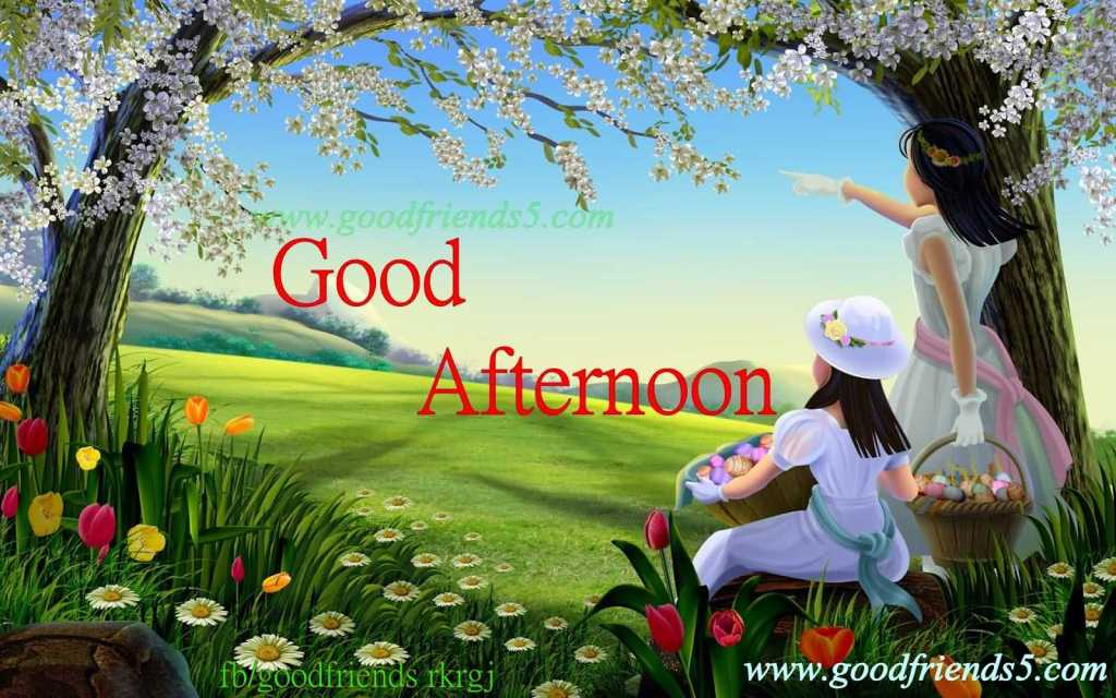 Lovely Good Afternoon Wishes Message Picture