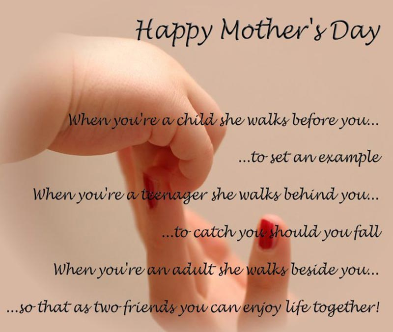 Lovely Happy Mothers Day Greetings Quotes Image