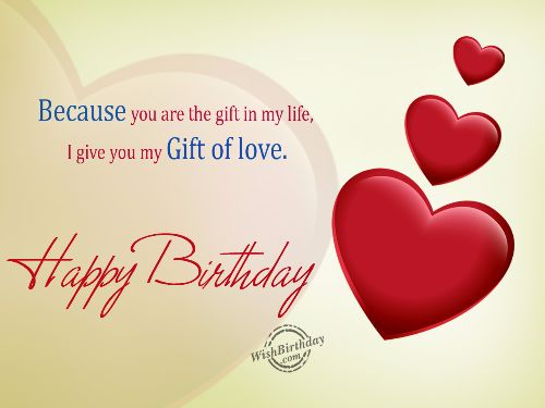 Lovely Husband Birthday Wishes Message Image