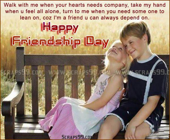 Lovely Quotes Image Happy Friendship Day Wishes