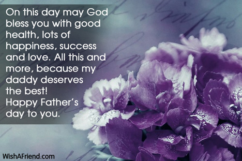 Lovely Quotes On Happy Father's Day To You