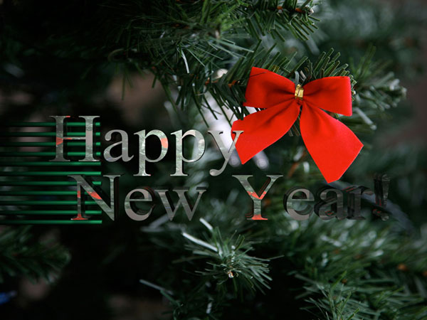 Lovely Happy New Year Wishes Wallpaper