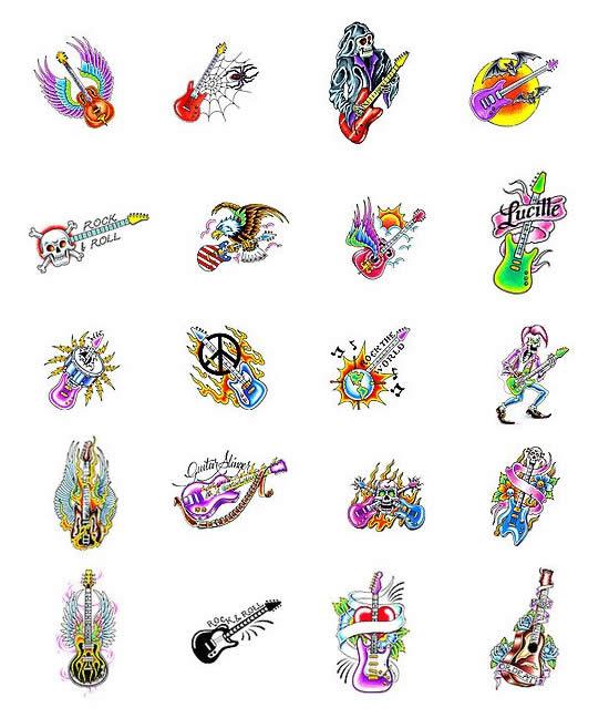 Rock Band Tattoo 022