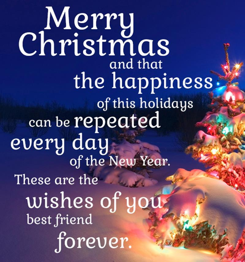 Merry Christmas Blessing