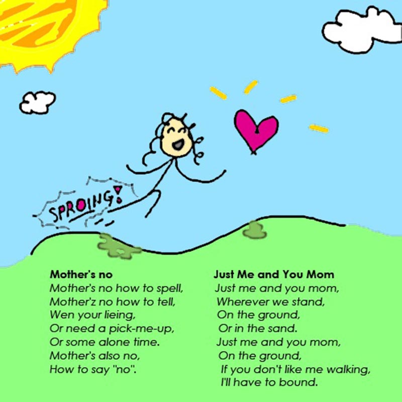 Monther's Day Wishes Poem Image