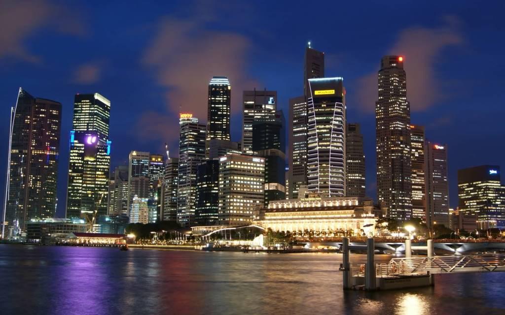 Most Amazing Singapore Cityscape Full HD Wallpaper
