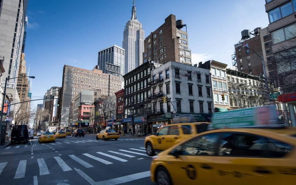 Most Great Manhattan Roads Full HD Wallpaper