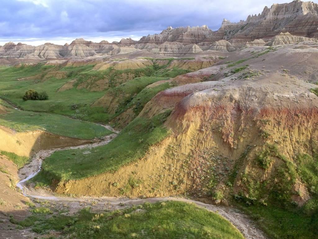 Most Inspirational Badlands National Park South Dakota 4K Wallpaper
