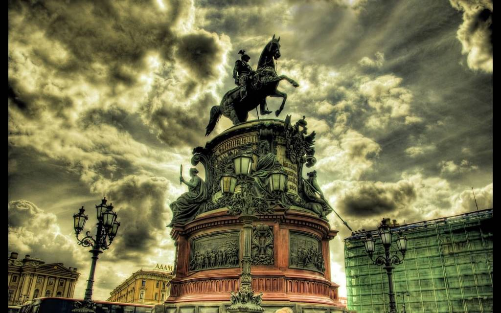 Most Tremendous Saint Petersburg Full HD Wallpaper