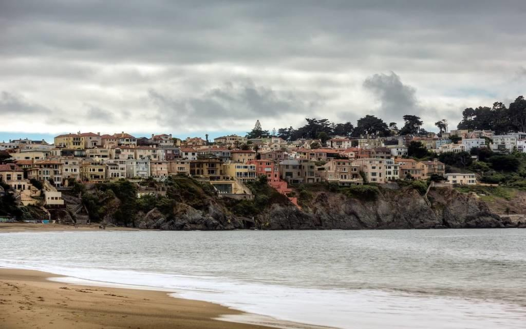Most Wonderful Sea cliff Full HD Wallpaper