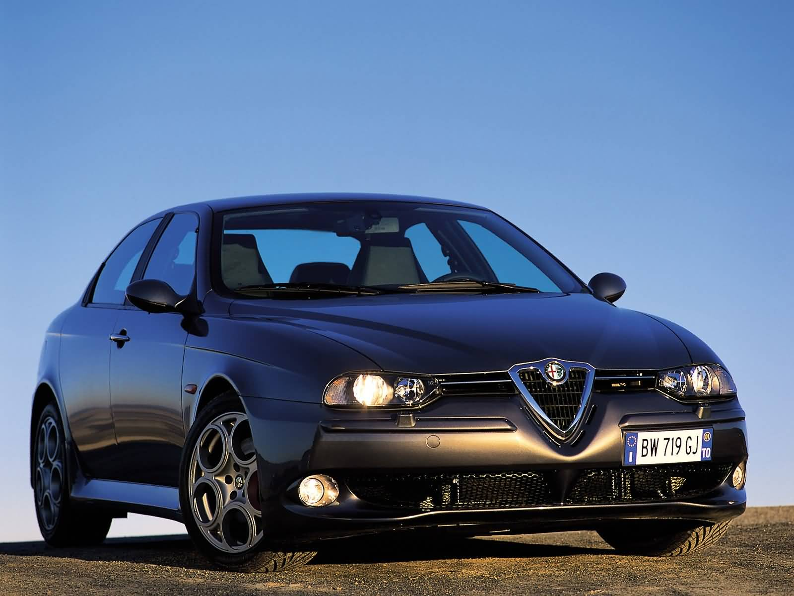 Most popular black Alfa Romeo 156 GTA Car