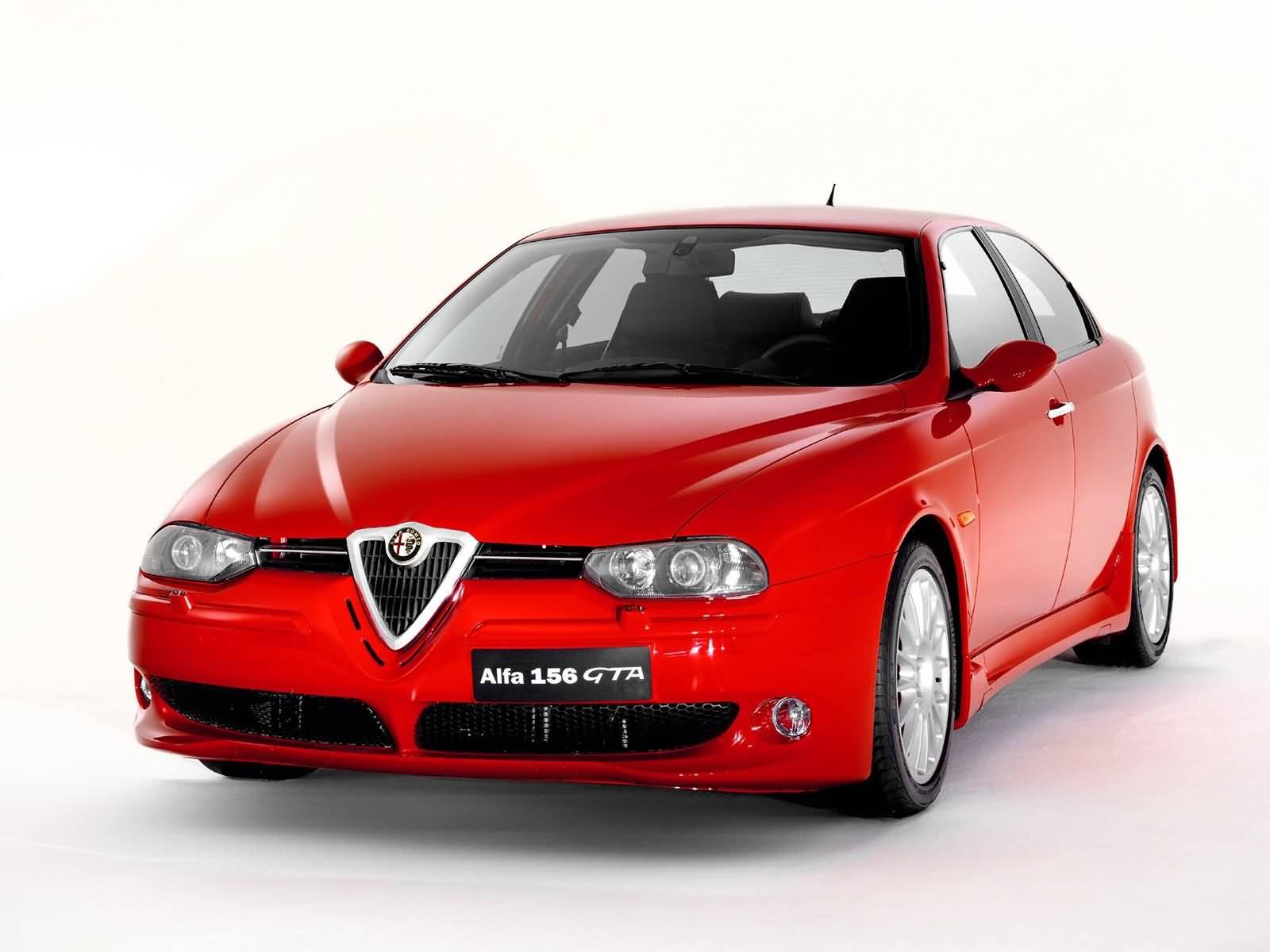 Most popular red Alfa Romeo 156 GTA Car