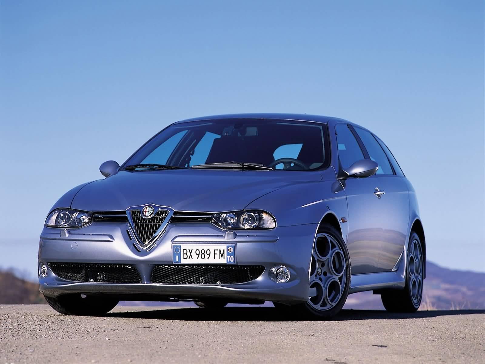 Most popular silver Alfa Romeo 156 GTA Car