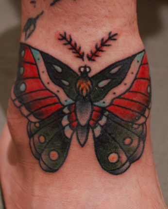 Nice Butterfly Tattoo