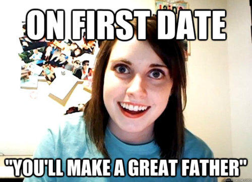 On First Date You'll Make A Great Father
