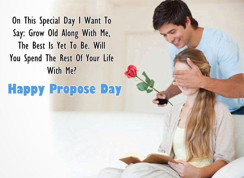 On This Special Day Happy Propose Day Darling Greetings Quotes Image