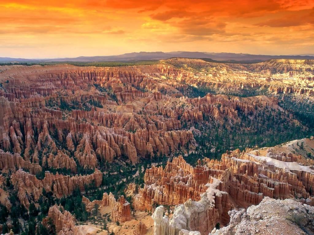 Phenomenal Bryce Canyon National Park Utah 4K Wallpaper