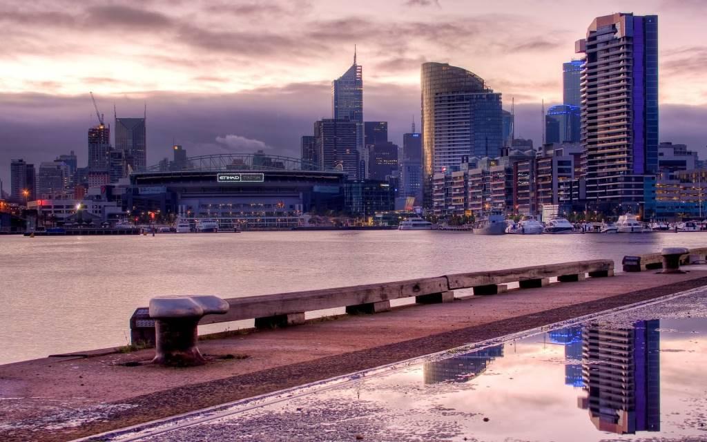 Phenomenal Melbourne Full HD Wallpaper