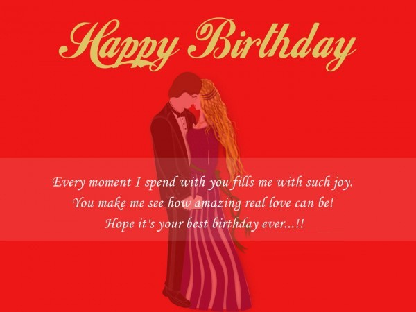 Romantic Happy Birthday Wishes For My Dear Hubby Image