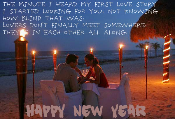 Romantic Happy New Year Wishes Message Image