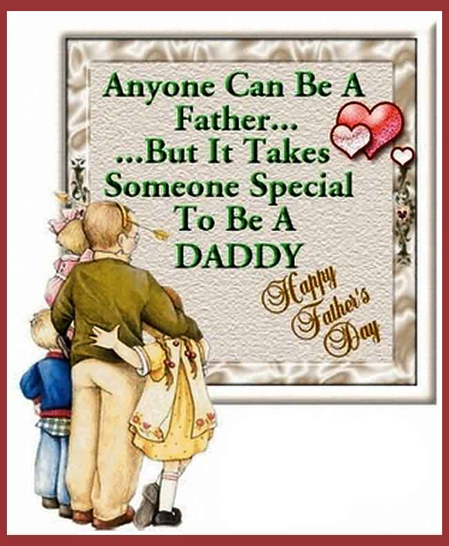 Special Daddy Happy Father's Day Wishes Image