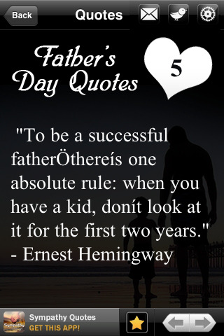 Successful Happy Father's Day Quotes Image