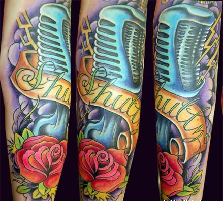 Rock Band Tattoo 016