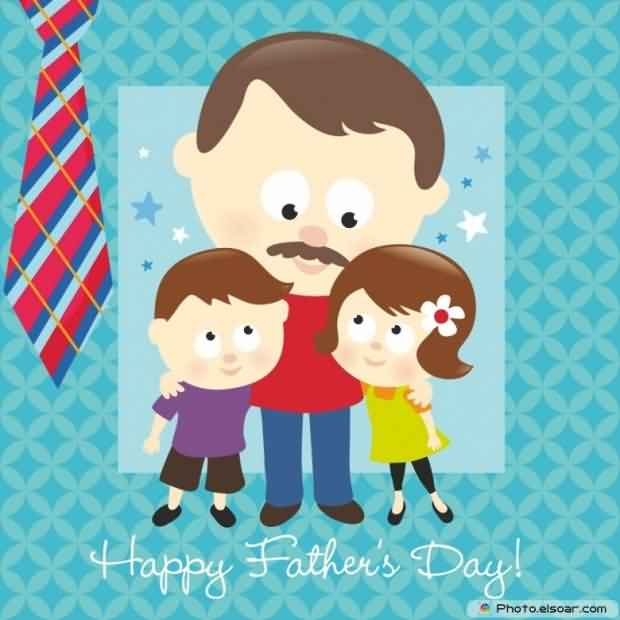 Sweet Happy Father's Day Wishes Image