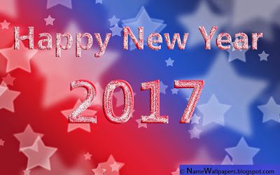 To All My Friends Happy New Year 2017 Awesome Wallpaper