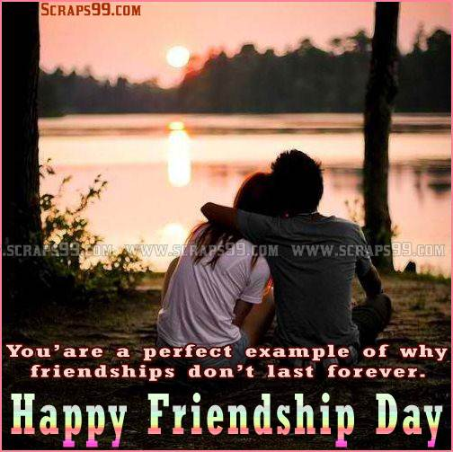 To My Gorgeous Friend Happy Friendship Day Wishes Image