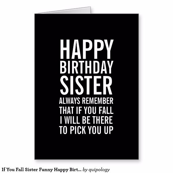To My Great Sister Happy Birthday Wishes Card Image