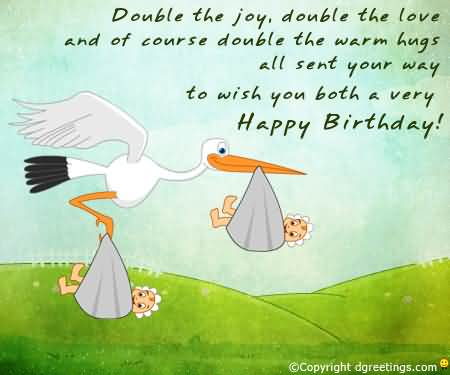 To Wish You Both A Very Happy Birthday