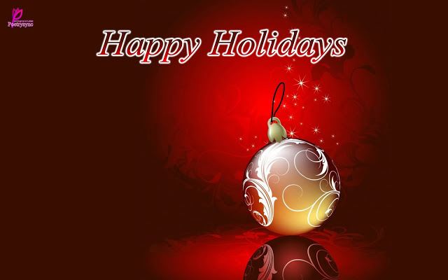 To my Lovely Friend Happy Holiday Wishes Picture