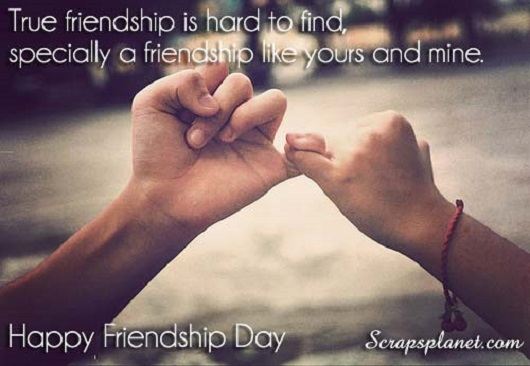 True Friendship Is Hard To Find Happy Friendship Day Wishes