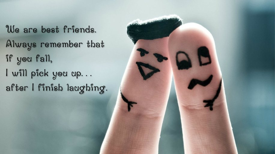 We Are Best Friends Happy Friendship Day Wishes Wallpaper