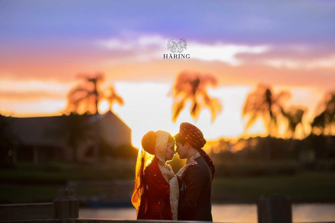 Wedding Couple Happy Marriage Life Wishes Image
