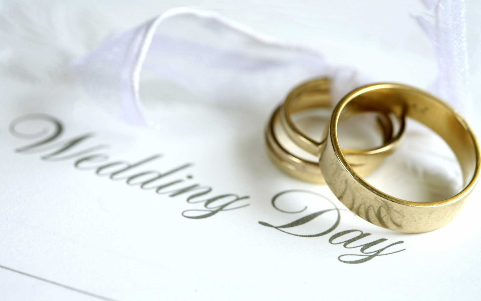 Wedding Day Wishes Wallpaper