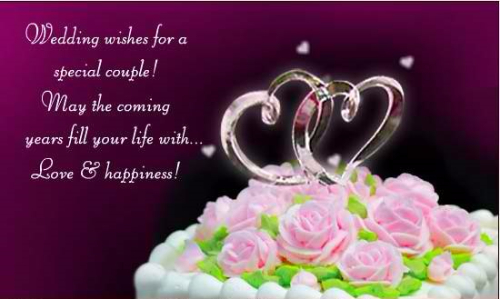 Wedding Wishes For A Special Couple