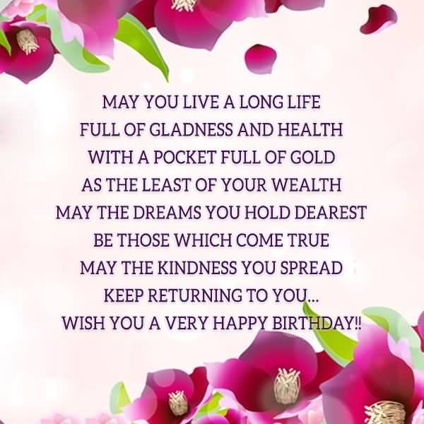 Wish A Very Happy Birthday Poem Image